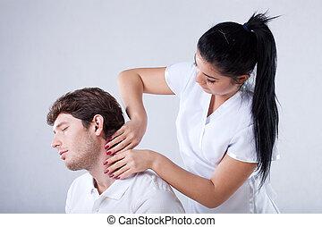 massera, a, hals
