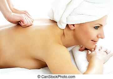 masseren, genoegen