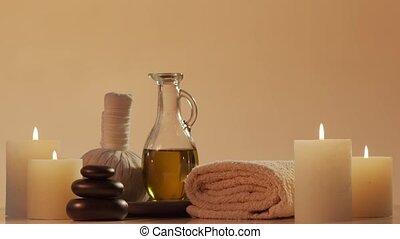masseren, wellbeing, spa, composition., meditation., ...