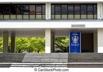 Massey University - PALMERSTON NORTH, NZL - NOV 29...