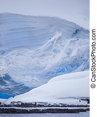 Massive Antarctic Iceberg