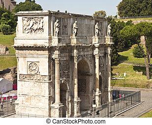 Massive Arch at Coliseum