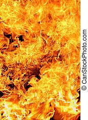 flames - Massive exploding flames