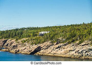 Massive Home on Coast of Maine