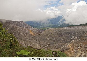 Massive Lava Flow Threatening the San Jose Valley, Poas...