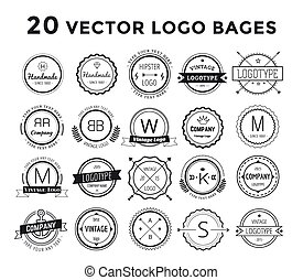 Massive logo set bundle vector - Massive logo set bundle....