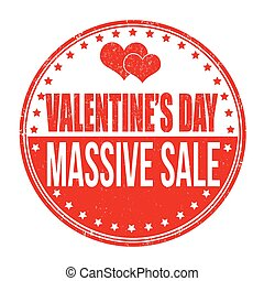 massive, valentines, vendita, giorno