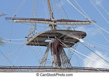 mast and crow´s nest