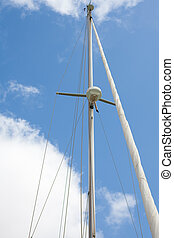 mast and sky