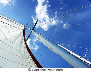 mast, von, unterhalb