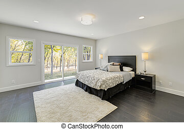 Master bedroom in luxury house