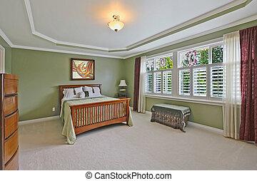 Master bedroom - Large master bedroom. Nice home near...