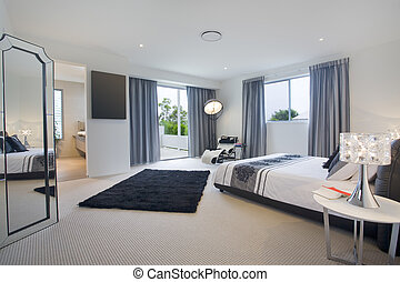 Master bedroom - Luxurious master bedroom in mansion