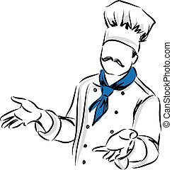 master chef posture illustration