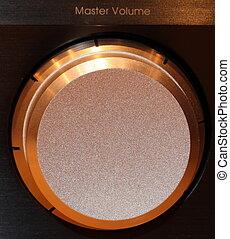 Master Volume control - master volume knob