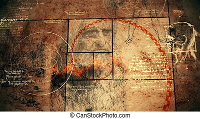 """Masterpiece Code Da Vinci Picture"" - ""A zoom-in 3d..."