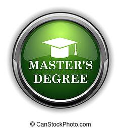 master's, grado, icon0