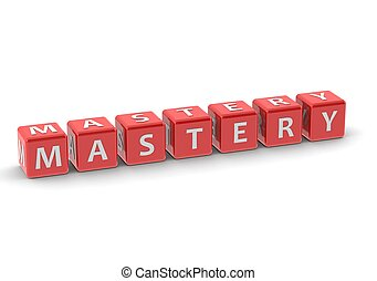 Mastery - Rendered artwork with white background