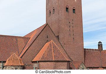 Masthuggskyrkan church at Goteborg in Sweden -...