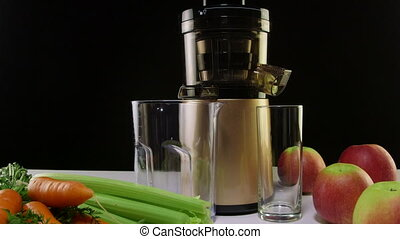 Masticating juicer machine - New masticating juicer machine...