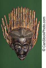 maszk, afrikai