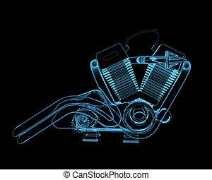 maszyna, motocycle