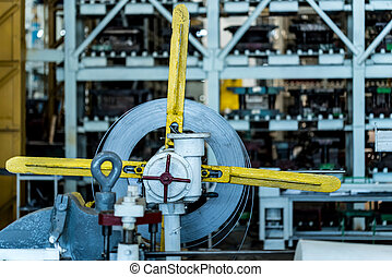 maszyna, zamknięcie, przemysłowy, fabryka