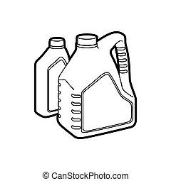 maszynowy olej