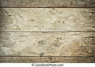 matériel, fond, bois, grunge, planches