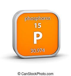 matériel, phosphore, signe