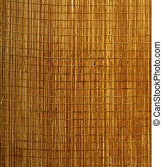 Mat - Background of little wooden mat for food
