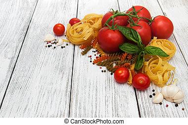 mat italienska, ingredienser