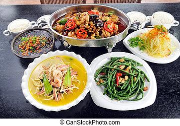 mat, Kinesisk