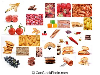 mat,  Montage, olika