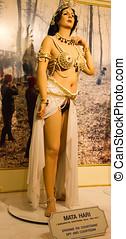 Mata Hari in Wax - Mata Hari in wax at Sexmuseum in...