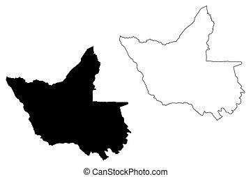 Matabeleland North Province (Republic of Zimbabwe, Provinces...