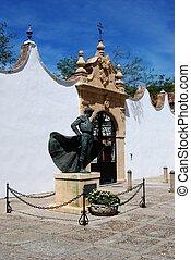 Matador statue, Ronda, Spain.