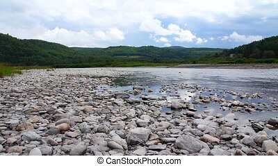Matapedia natural landscape of Gaspes Peninsula Quebec...