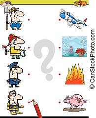match pictures game for kids