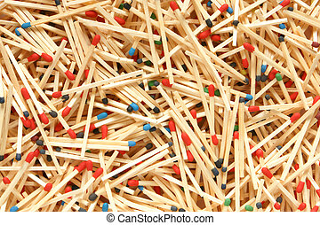 Matches, for backgrounds or textures