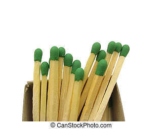 matches stack - isolated