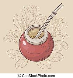 Mate tea - Calabash and bombilla