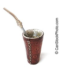 mate - terere, drink of Paraguay