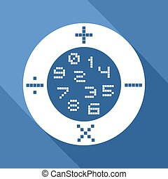 matemática, ícone