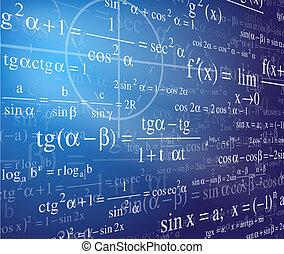 matemática, fundo