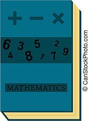 matemática, livro