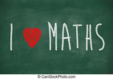 matemáticas, amor