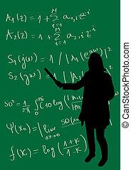 matemáticas, clase