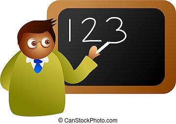 matemáticas, professor
