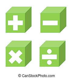 matemáticas, símbolos